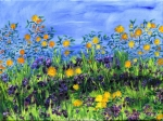 Picture of Daisy Days Springy Oil painting