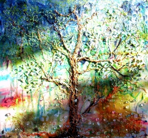 Tree of life 6 in dappled sunlight