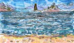 inner islands art card